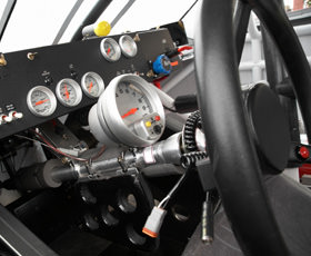 Stock Car Dashboard - New Hampshire Helicopter Shuttle